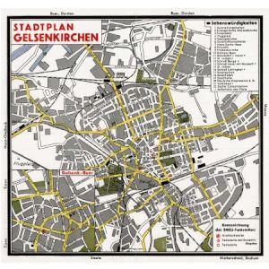 Heilbronn Karte Stadtplan.Shell Stadtkarten 1934 1939 Landkartenarchiv De