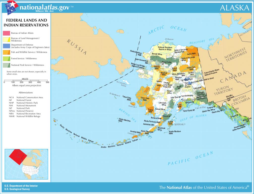 Alaska-federal-lands-indian-reservations-map