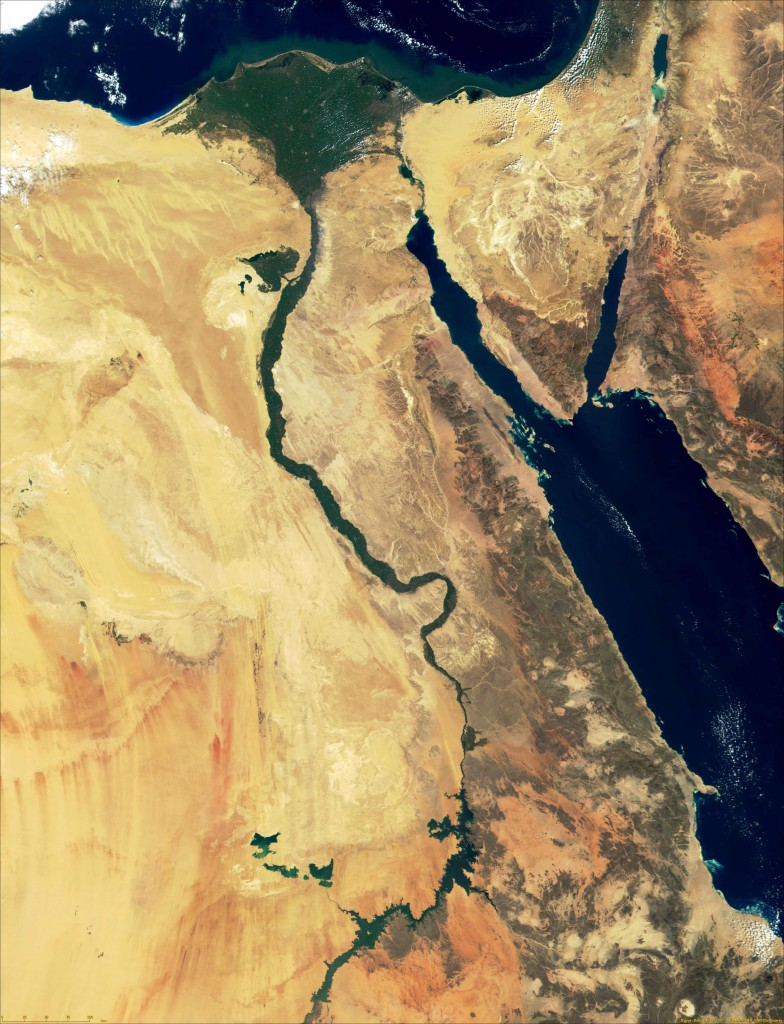 egypt_satellite_image