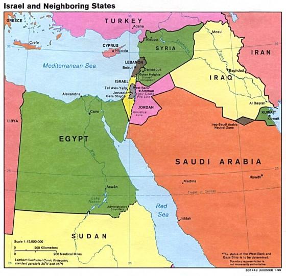 Karte Iran Nachbarlander.Agypten Weltatlas