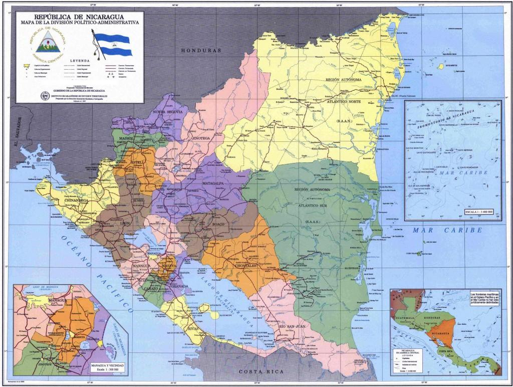 nicaragua_political_map