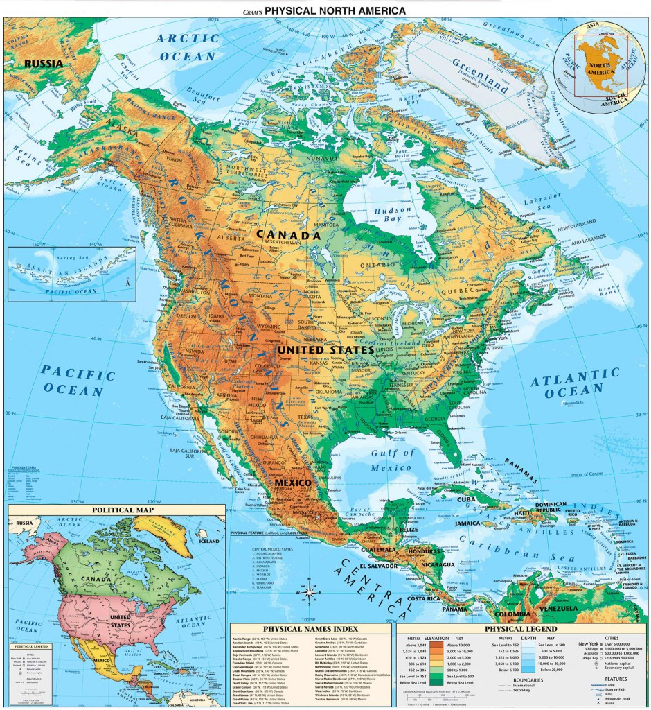 north_and_central_america_physical_map