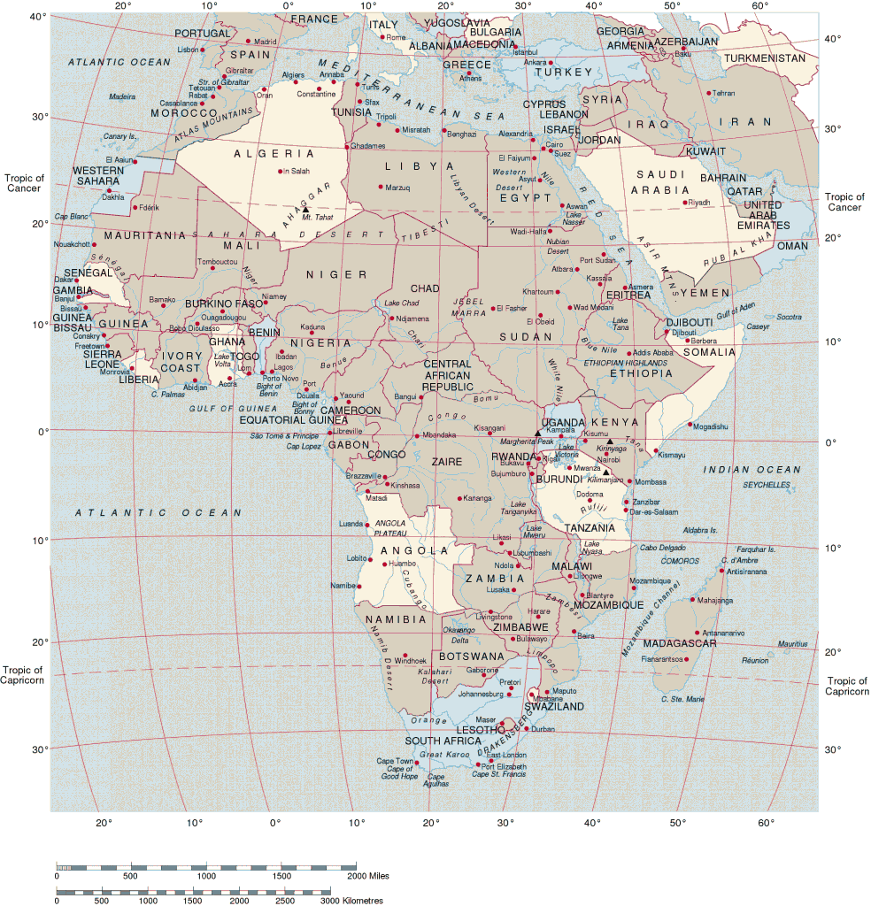 political_map_of_africa