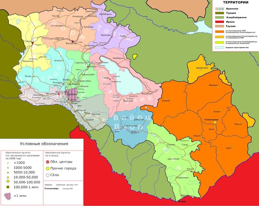 Administrative-Division-of-Armenia-Map