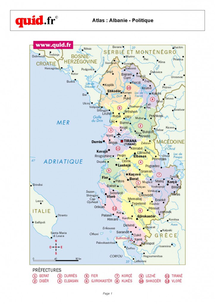 Albania-Regional-Map
