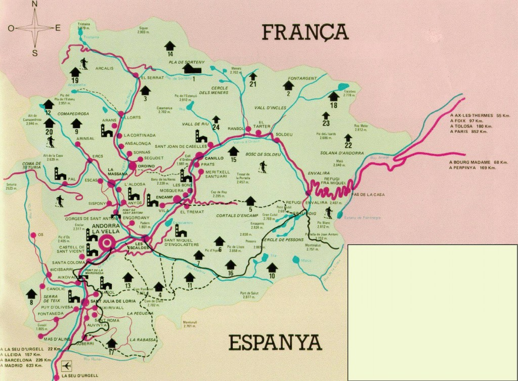 Andorra-Tourist-Map