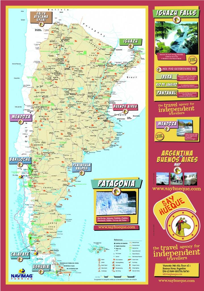 Argentina-Tourist-Map