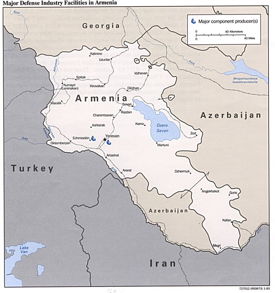 Armenia-Defense-Facilities-Map