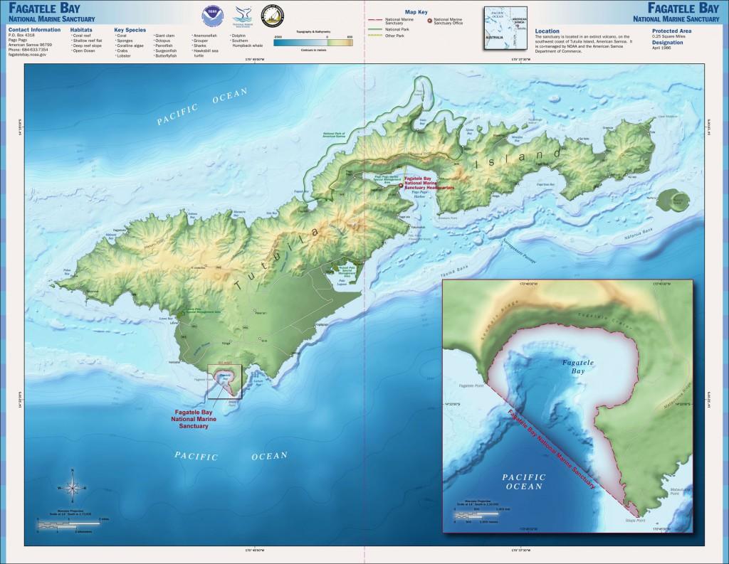 Fagatele-Bay-National-Marine-Sanctuary-Map