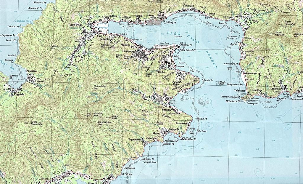 Pago-Pago-Map