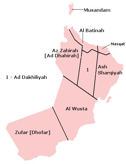 administrative-divisions-oman