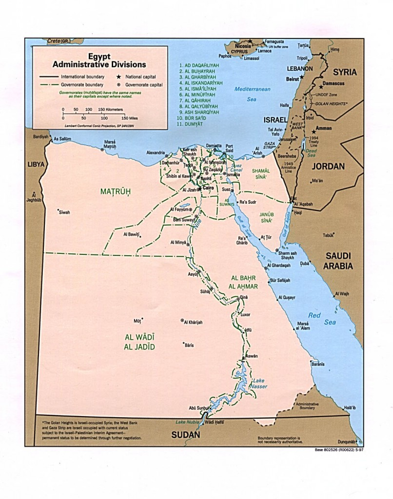 aegypten_karte