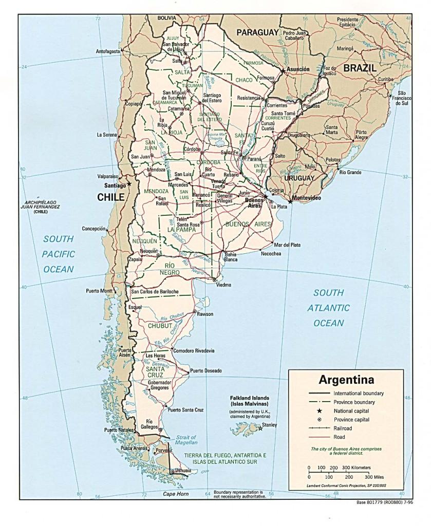 argentinienkarte