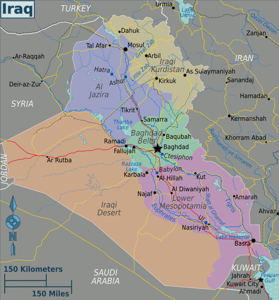 irak-regionen