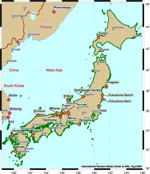 Japan Karte Physisch.Japan Weltatlas