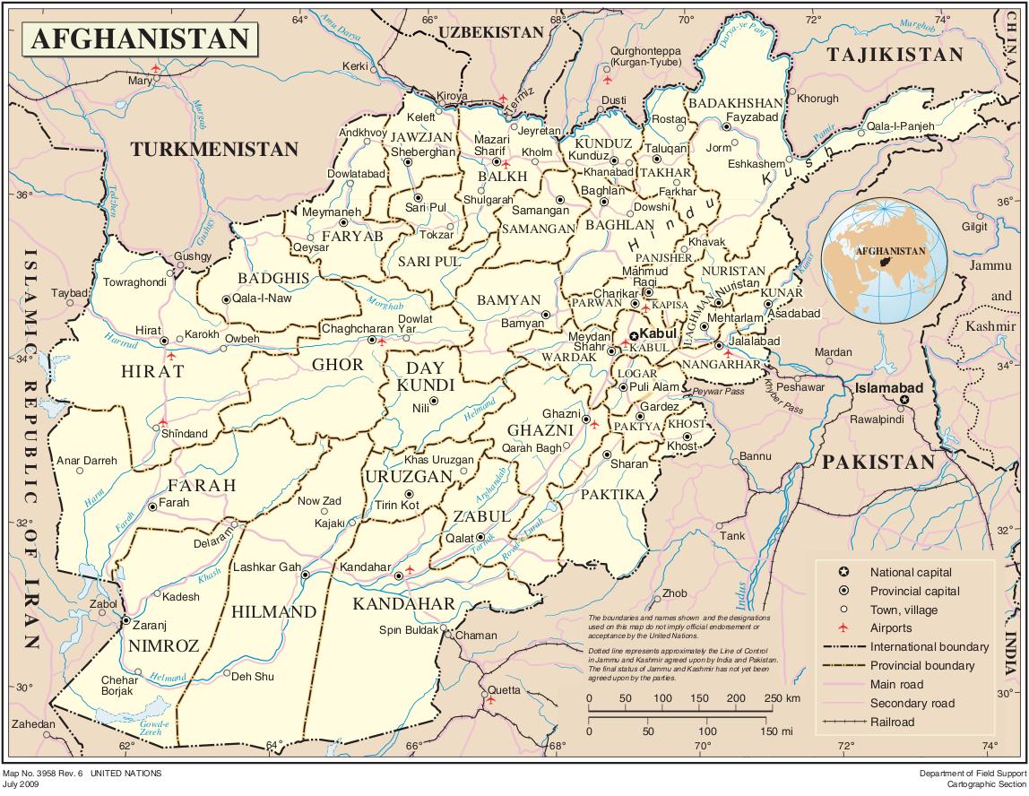 landkarte afghanistan land afghanistan | Weltatlas landkarte afghanistan