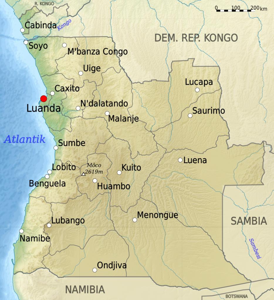 land-angola