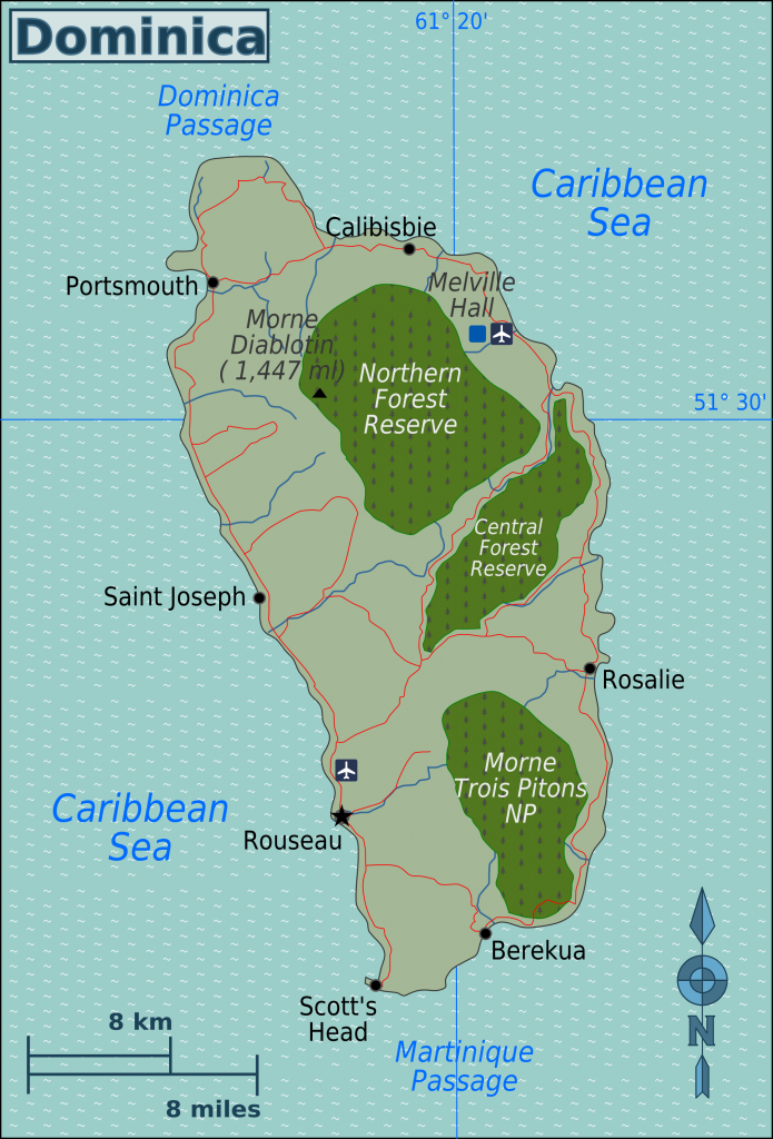 land-dominica