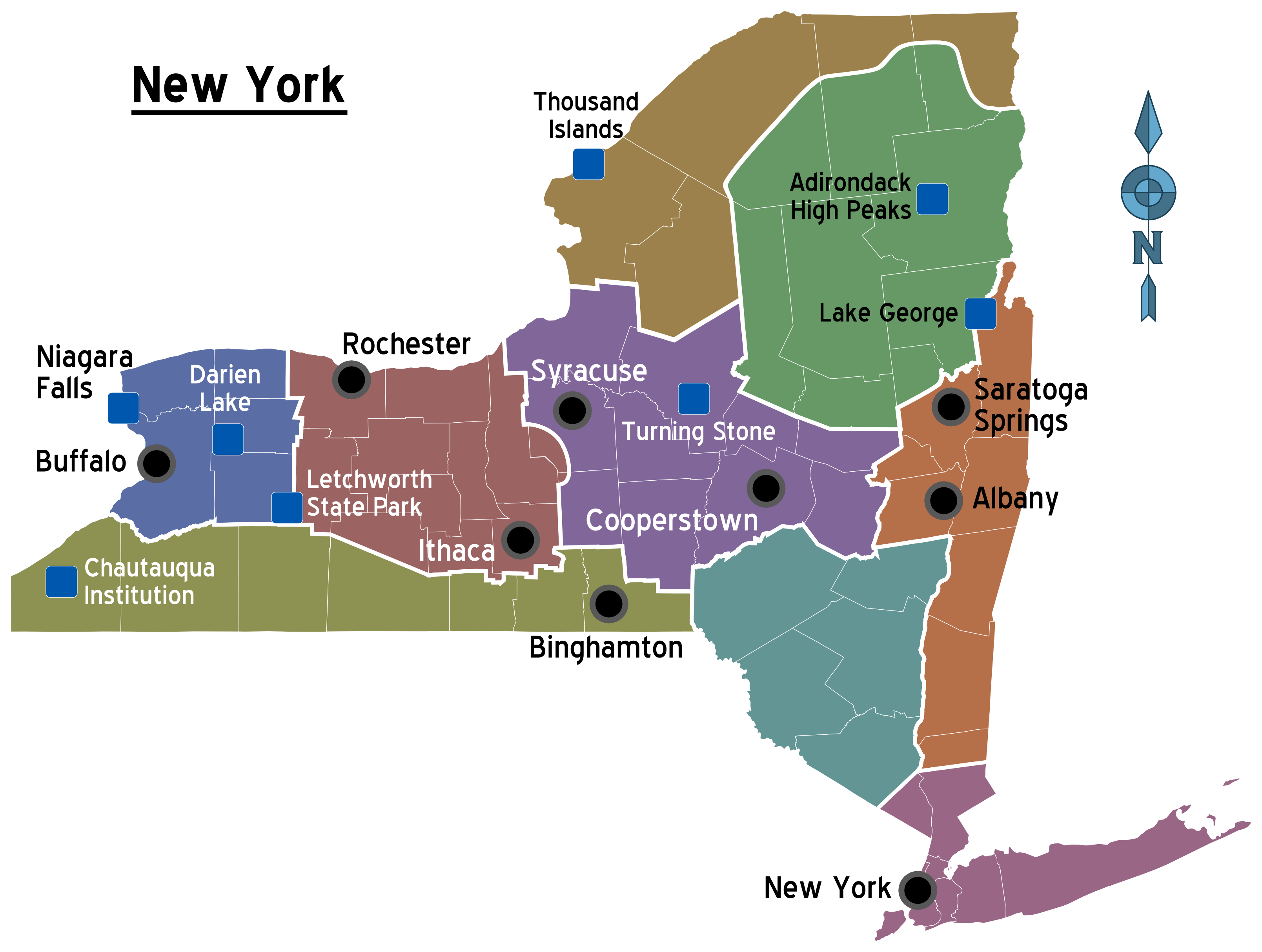 Natural Resources Found In New York For Kids