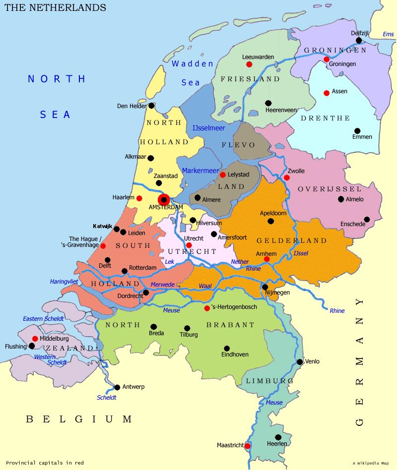 niederlande-provinzen