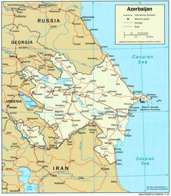 Aserbaidschan Weltatlas