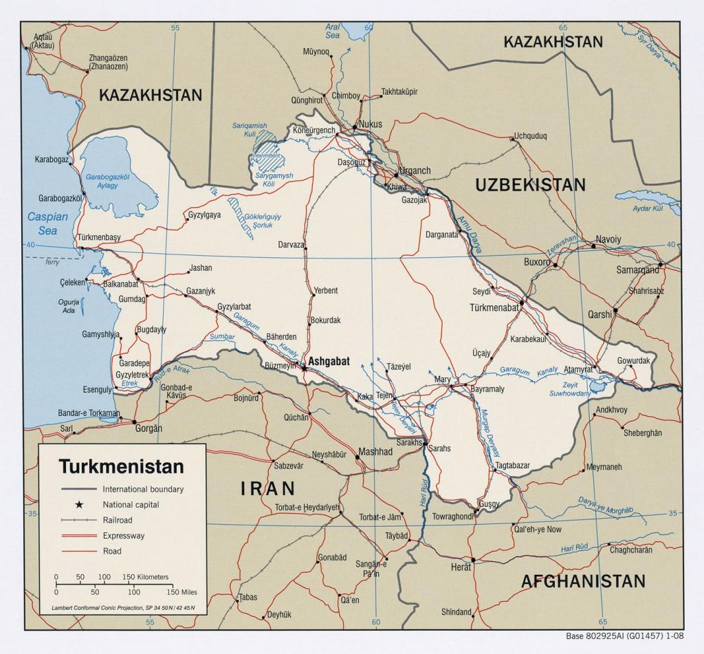 politische--Turkmenistan