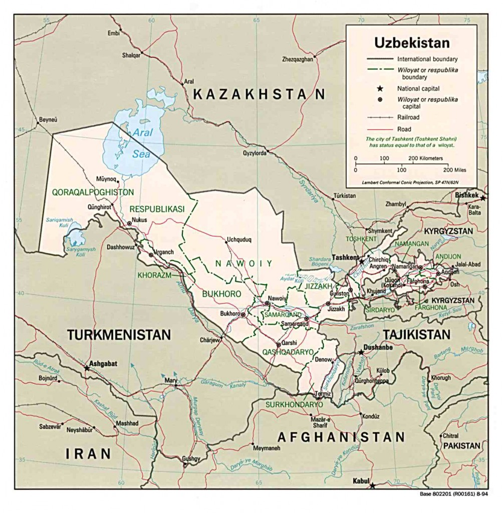 politische--Usbekistan
