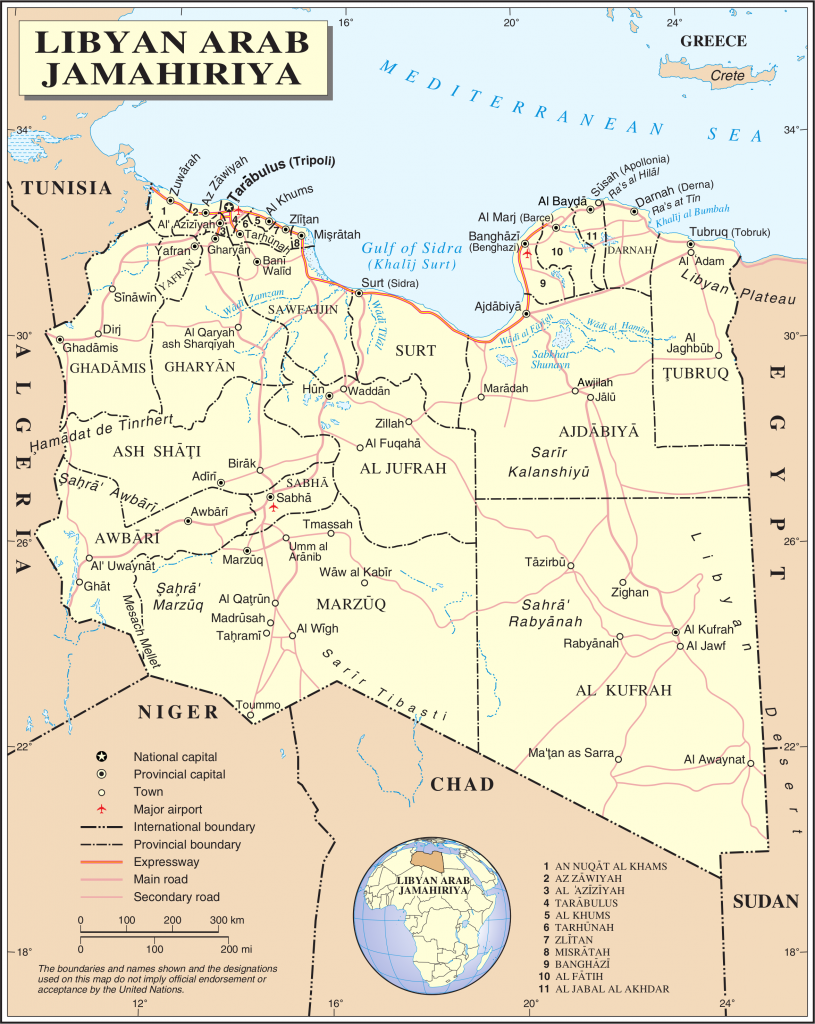 politische-land-libyen