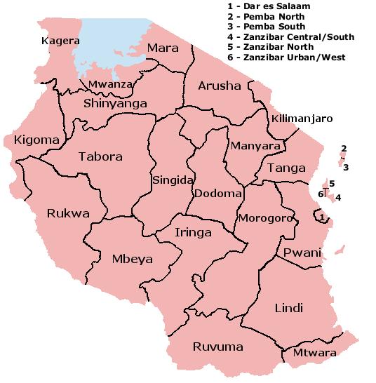 -provinzen-tansania