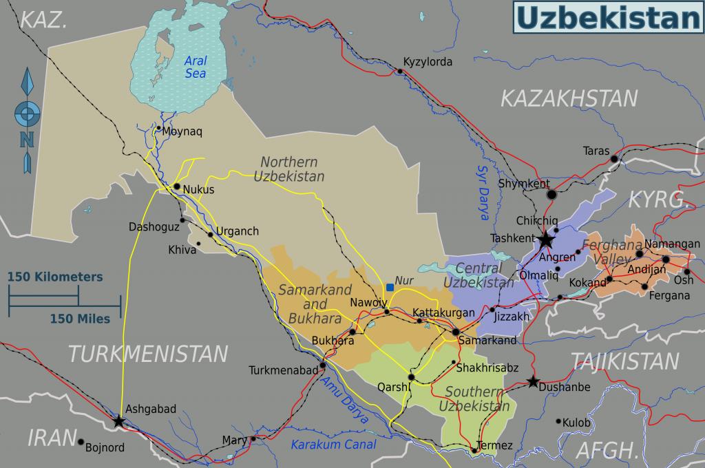 -regionen-Usbekistan