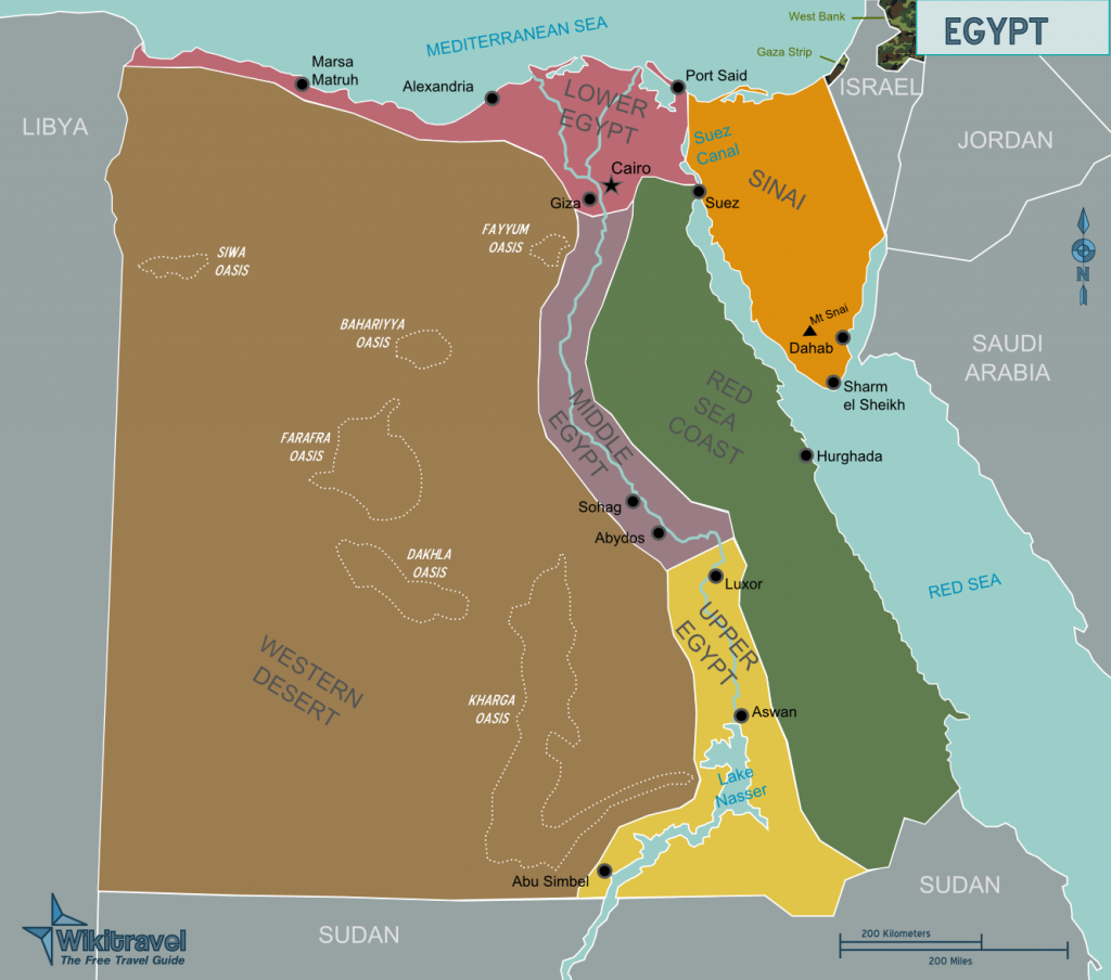 -regionen-aegypten