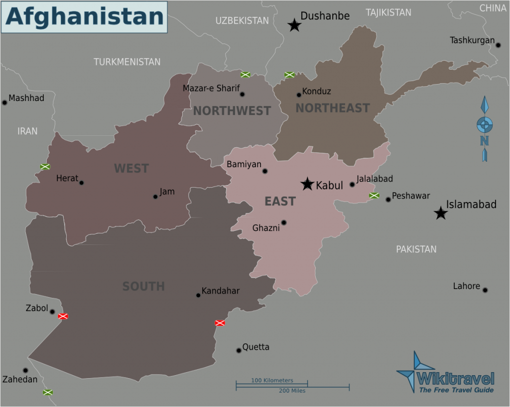 -regionen-afghanistan
