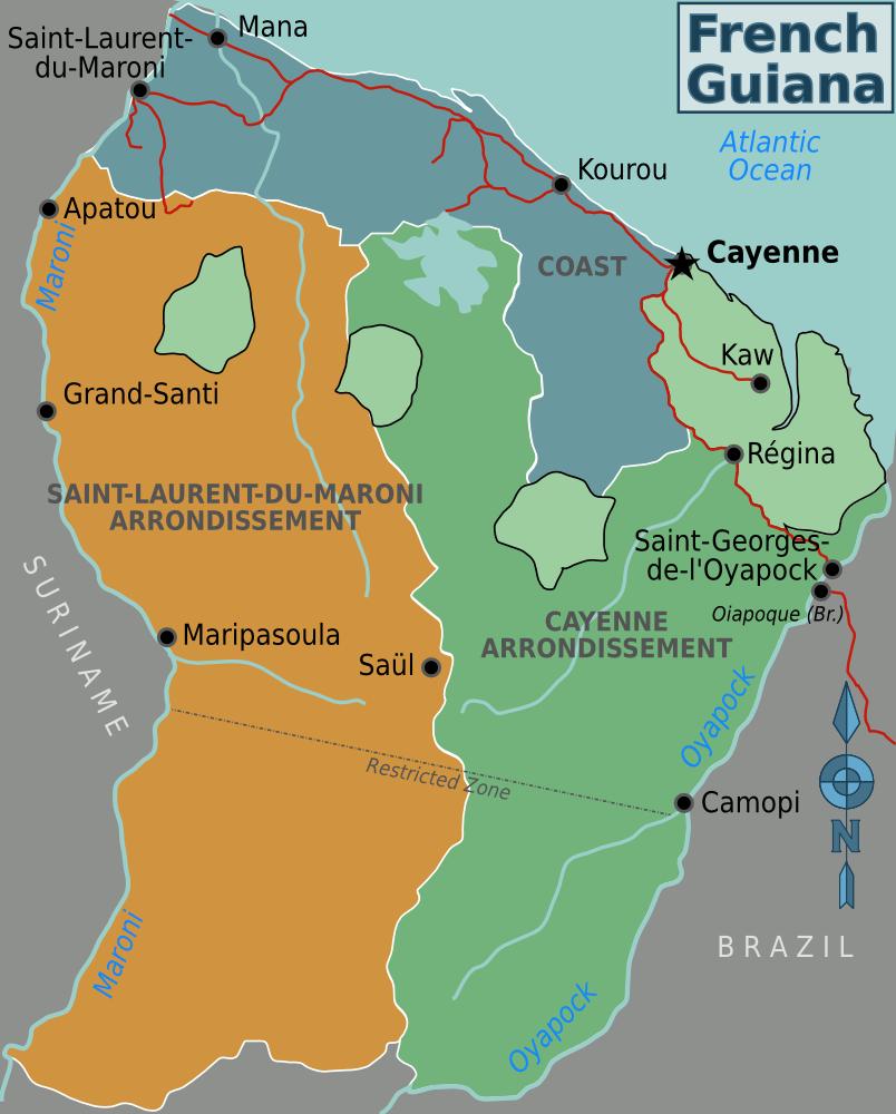 -regionen-franzoesisch-guayana