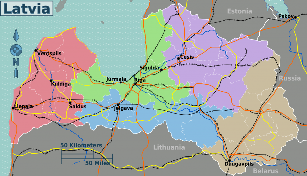-regionen-lettland
