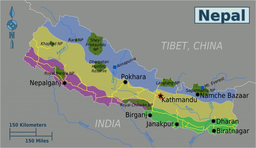 -regionen-nepal
