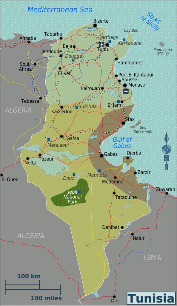 -regionen-tunesien