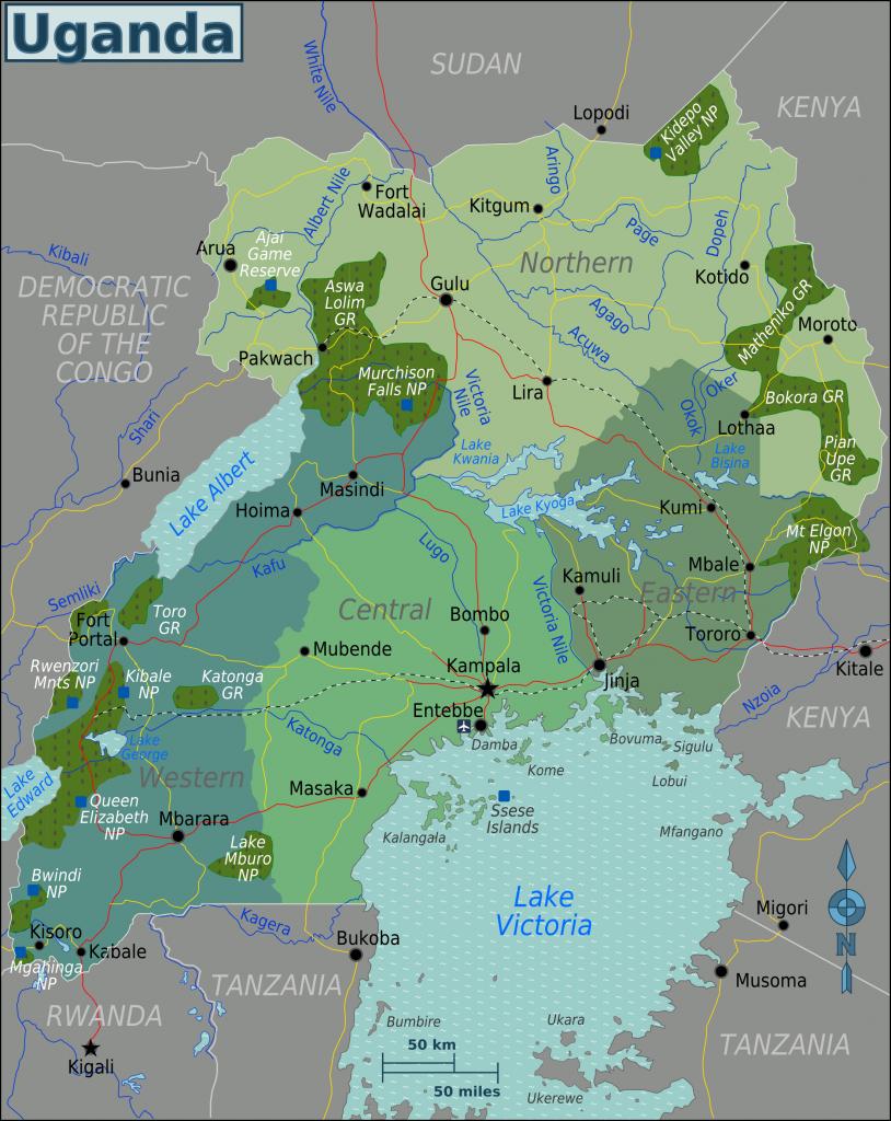 -regionen-uganda