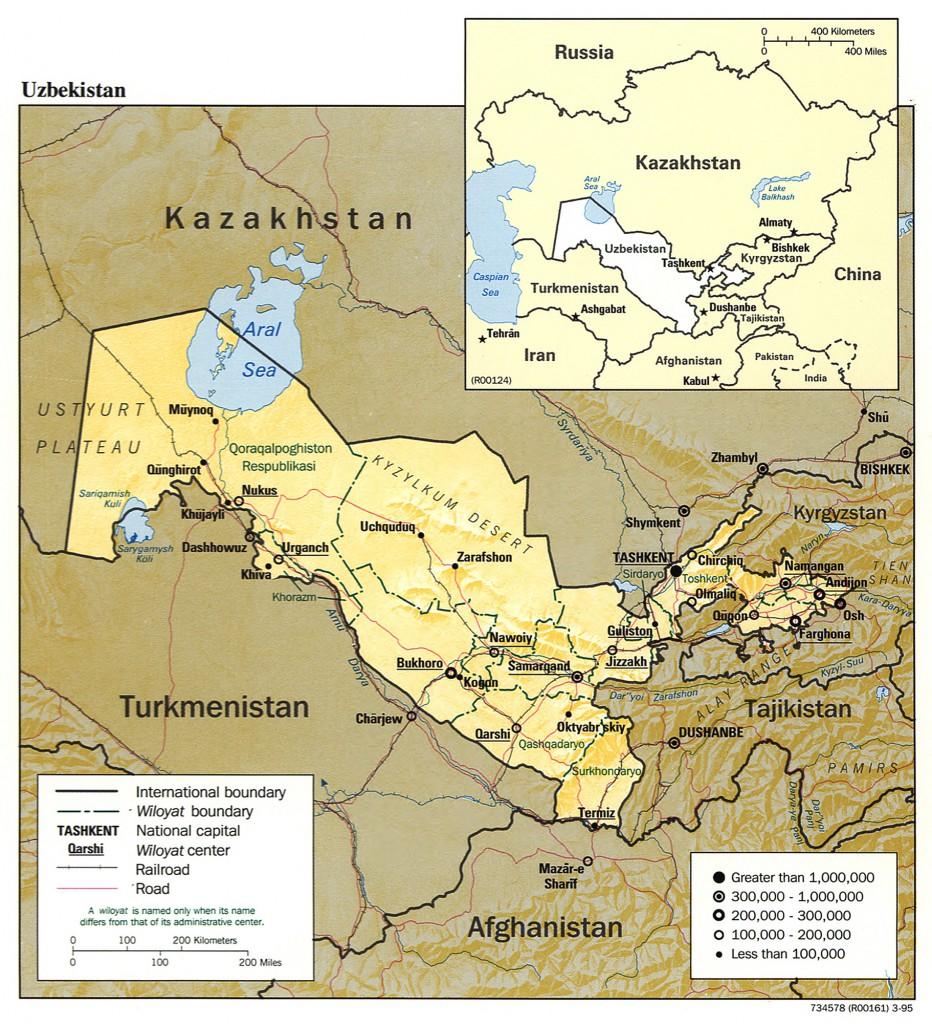 relief-Usbekistan