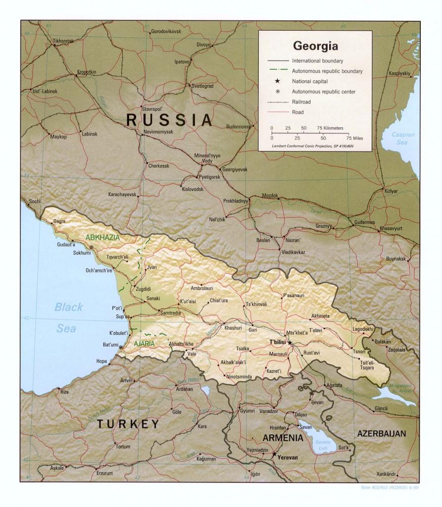 relief-georgien