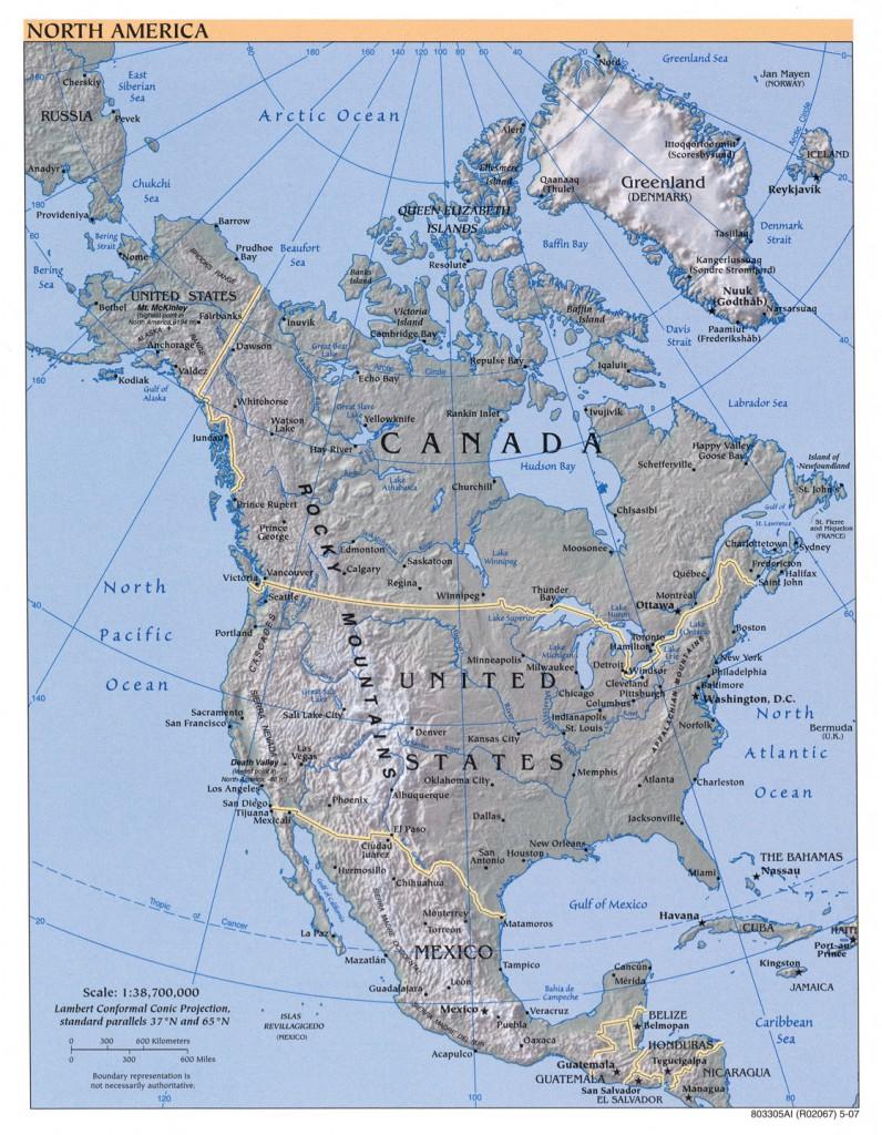 relief-nordamerika