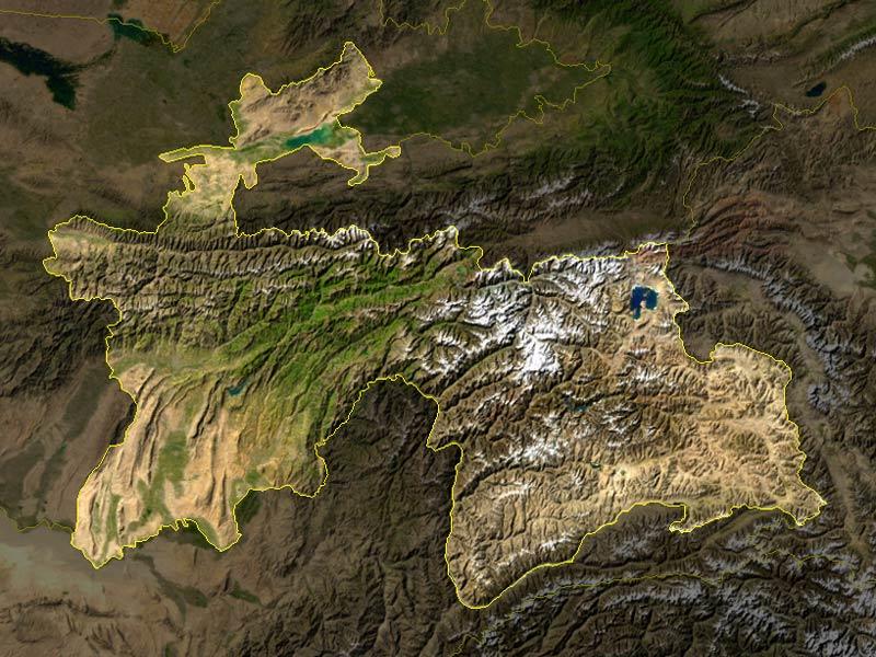 satelliten--Tadschikistan