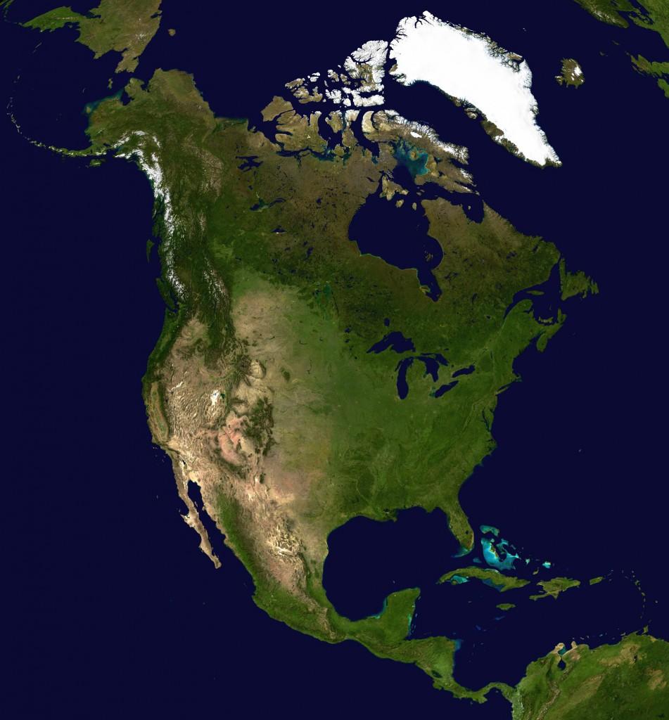 satelliten--nordamerika