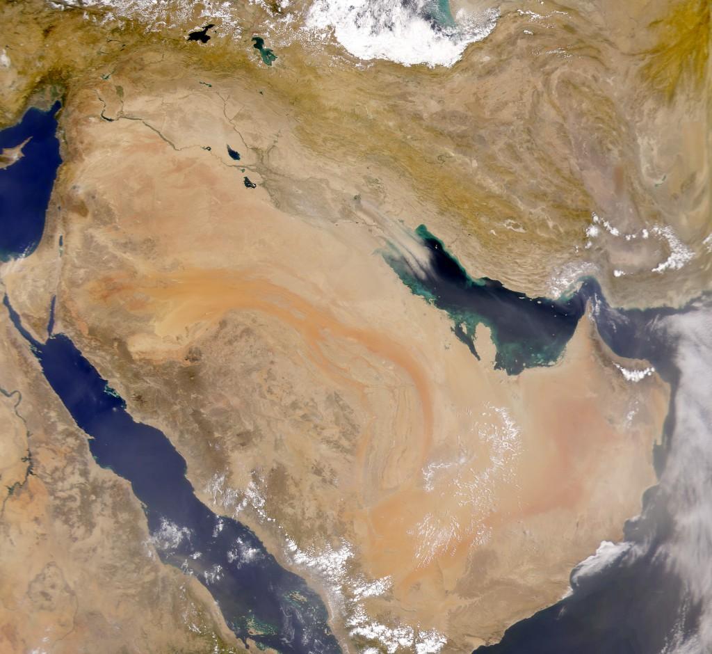 satelliten--saudi-arabien