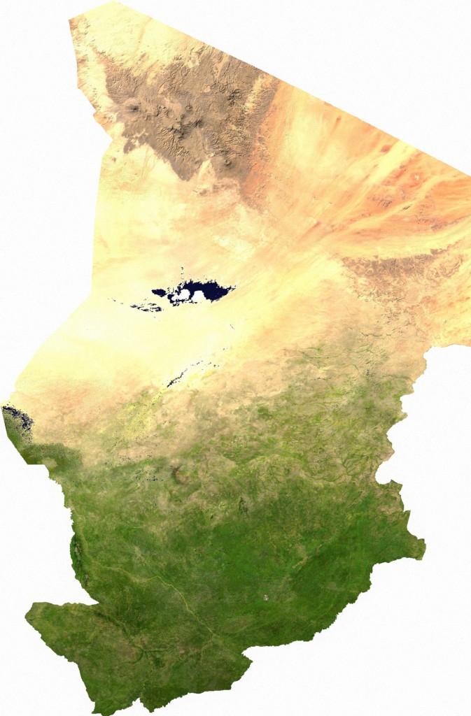 satelliten-tschad