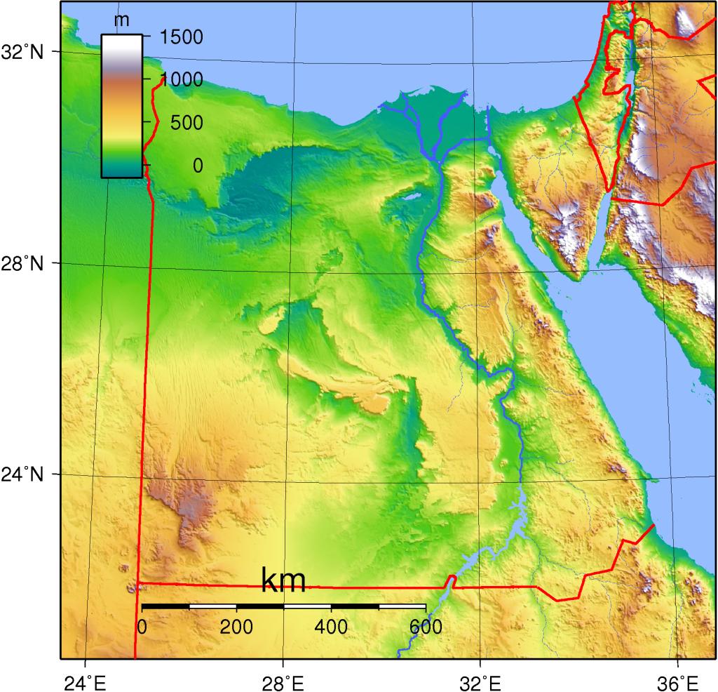 topographie-aegypten