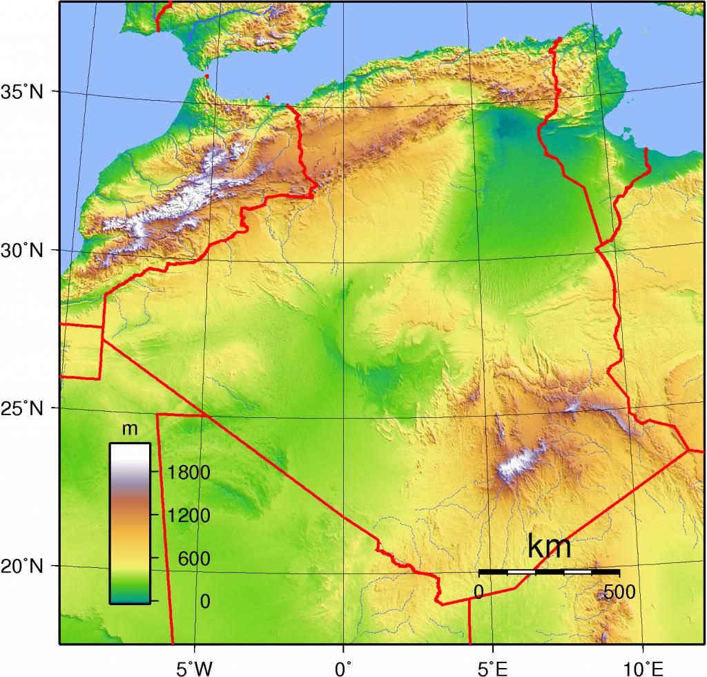 -topographie-algerien