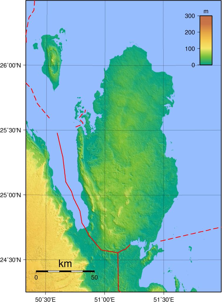 topographie-katar