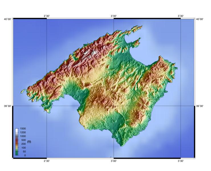 topographie-mallorca