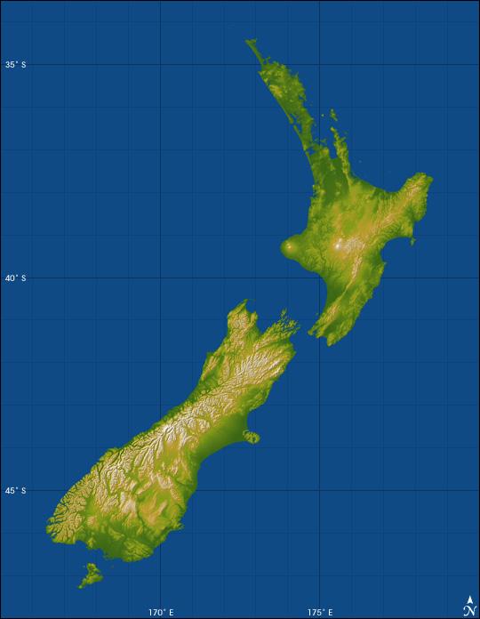 topographie-neuseeland