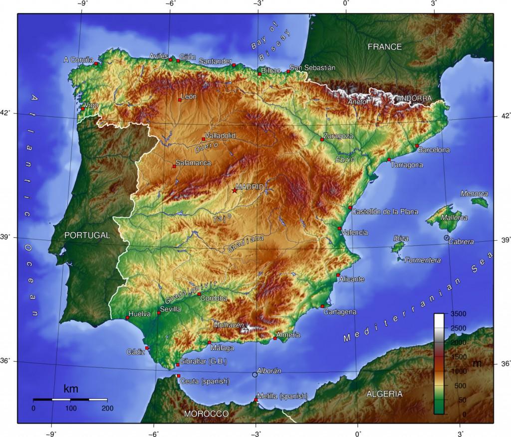 topographie-spanien
